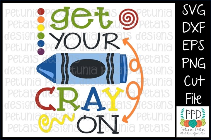 Get Your Cray On SVG 11298