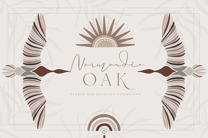 Normandie Oak Collection