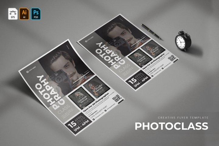Photoclass | Flyer
