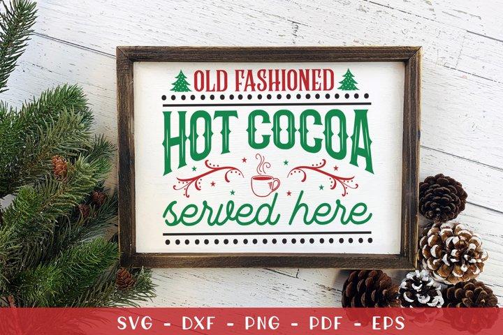 Christmas SVG, Christmas Farmhouse Sign SVG, DXF, EPS, PNG