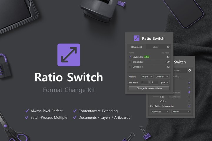 Ratio Switch - Format Change Kit