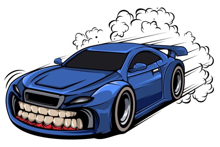 Supercar Illustration