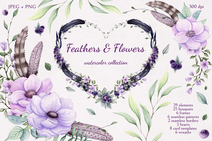Feathers & Flowers