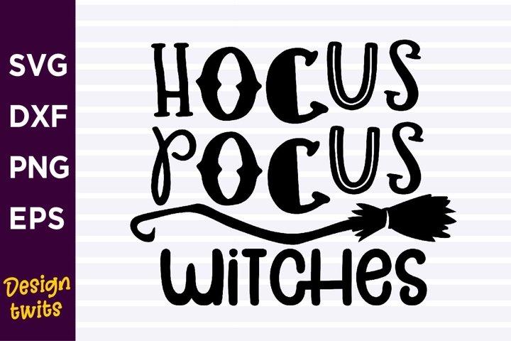 Hocus Pocus Witches SVG