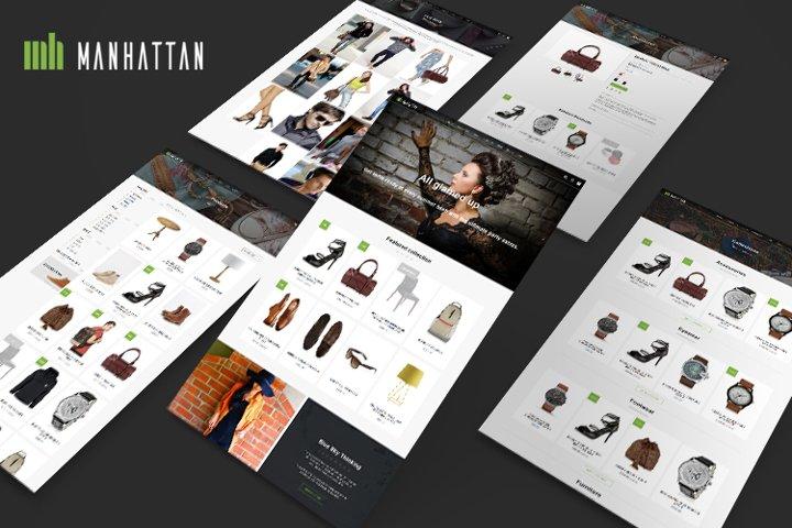 Manhattan Shopify Theme
