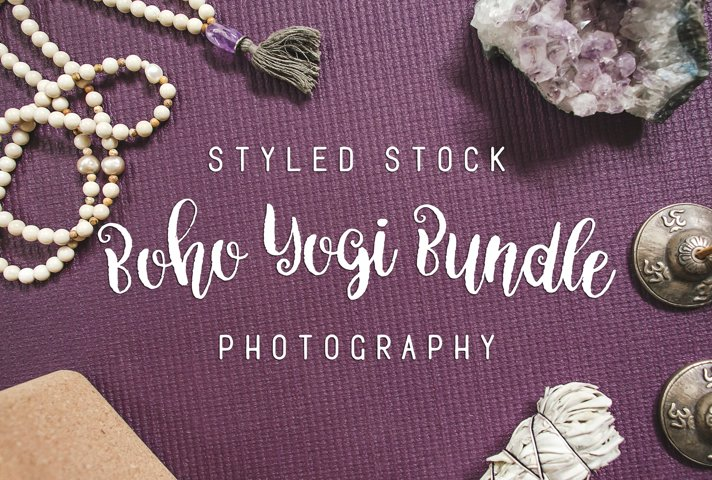 Boho Yogi Photo Bundle