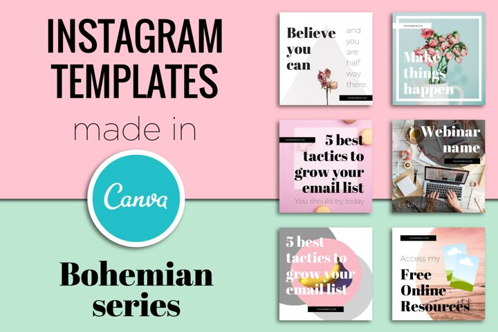 Instagram Templates Made In Canva