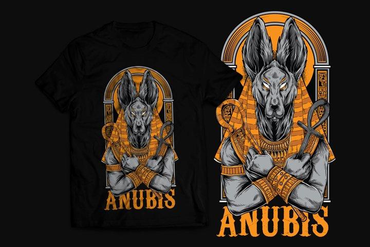 Anubis T-Shirt Design