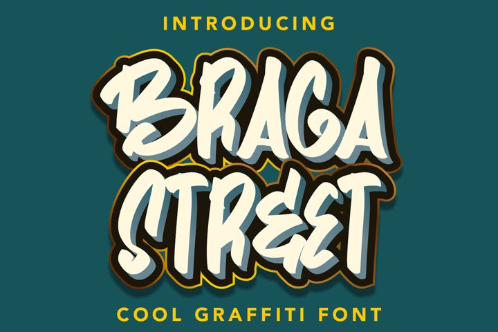 BragaStreet - Cool Gravity Fonts