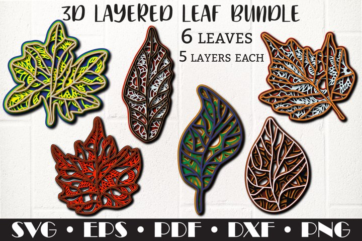 3D layered Leaf bundle