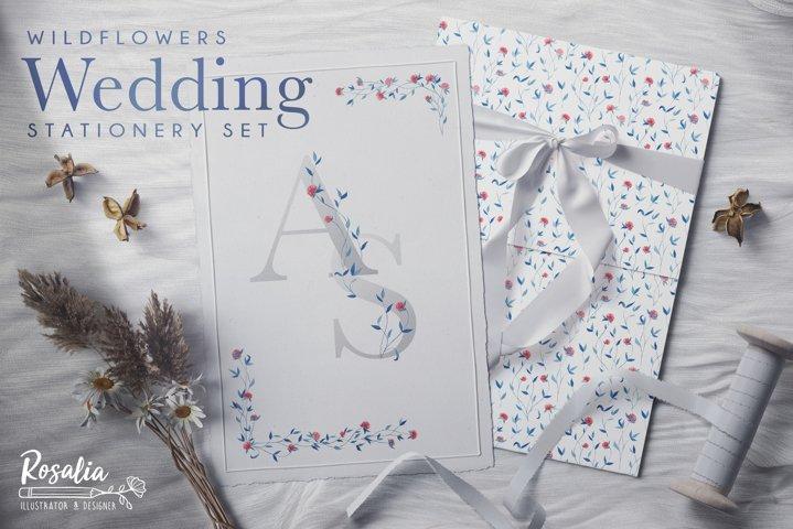 Wildflowers - Wedding Stationery Set