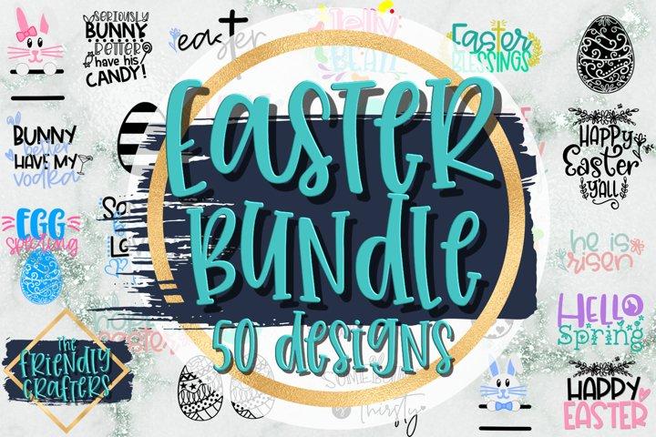 Easter Bundle - 50 Easter Designs! - Easter Cut Files
