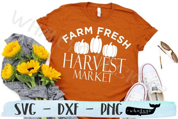 Farm Fresh Harvest Market- Fall, Thanksgiving, Autumn