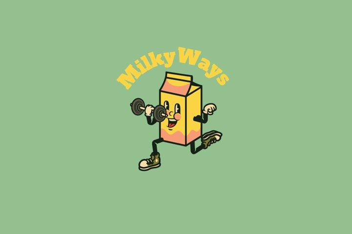 Milky Ways Logo Template