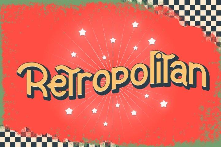 Retropolitan Font