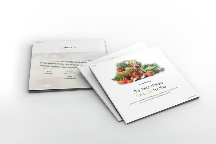 Farming Square Brochure Template