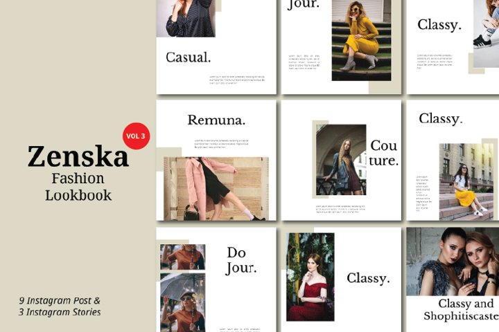 Zenska Fashion Instagram Template