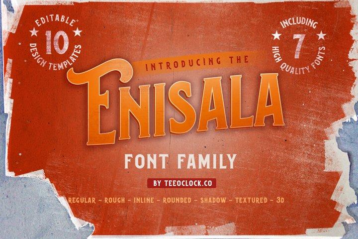 Enisala Font Family