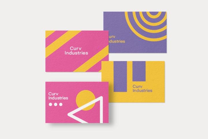 Business Card Bundle Template Design AI PSD