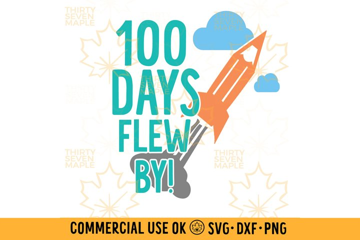 100 Days Flew By Rocket