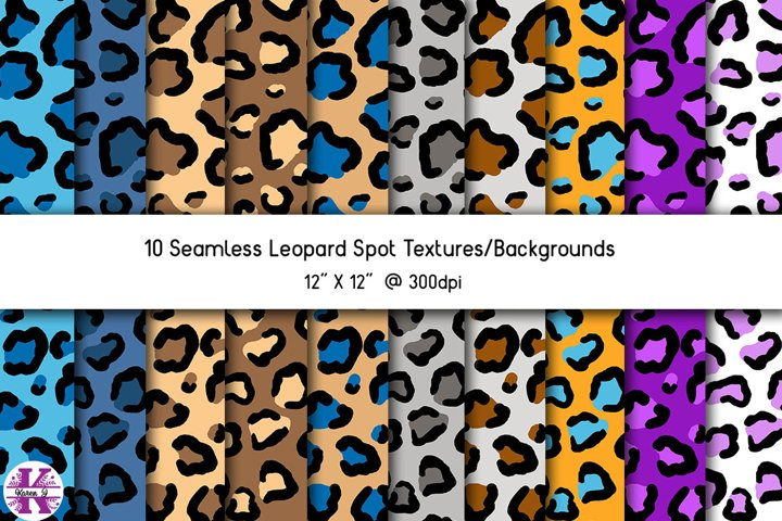 Leopard Spot Textures/Backgrounds
