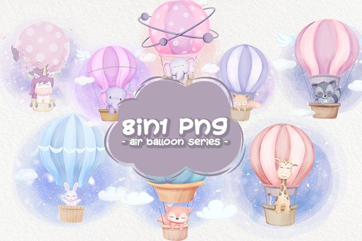 Cute Animal Air Balloon Series
