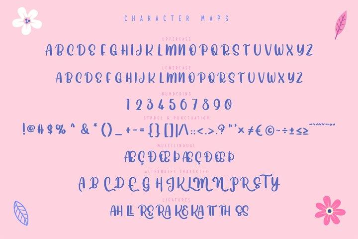 Joyfully | Cute & Playful Typeface example 3