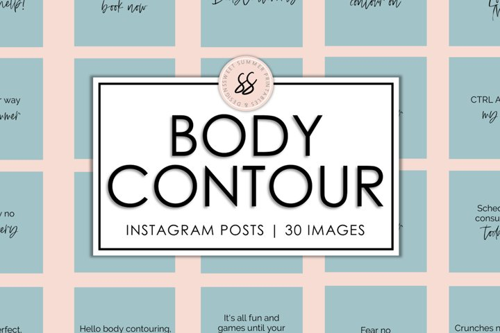 Body Contouring Teal Instagram Posts