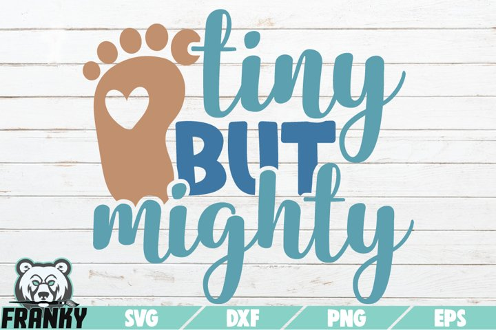 Tiny but mighty SVG | Printable Cut file