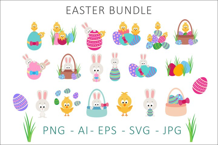 Easter Bundle Clipart