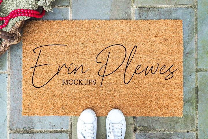 Doormat Mock-up | Coir Mat Mockup | Farmhouse Rug Mock Up