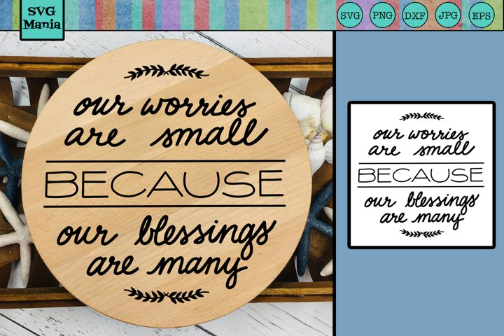 Round Sign SVG Saying, Inspirational Quote Circle SVG File
