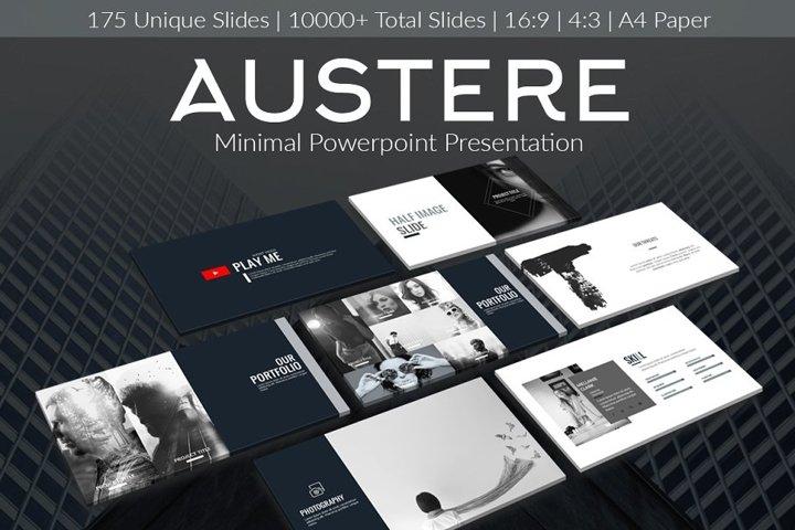 Austere - PowerPoint Presentation