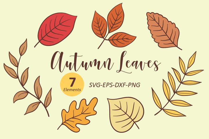 Autumn Leaves svg