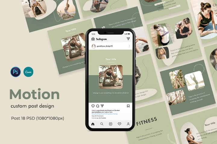 Motion - Instagram template