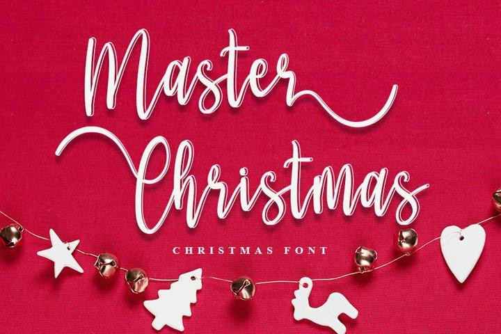 Master Christmas | Christmas Script Font