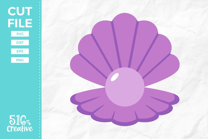 Seashell Pearl SVG DXF EPS PNG