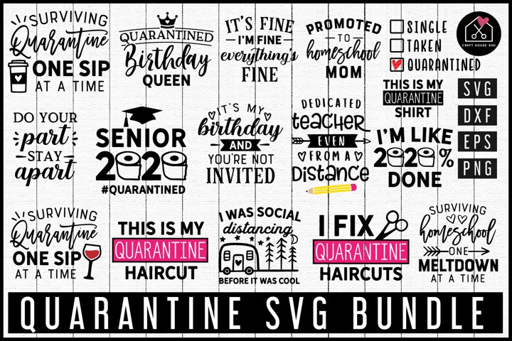 Quarantine SVG Bundle | MB75