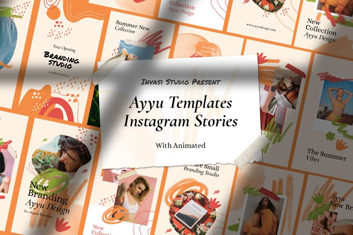 Ayyu-Instagram Stories Animated Templates