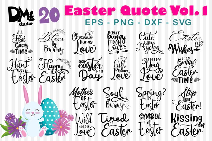20 Easter Quote Bundle Vol.1