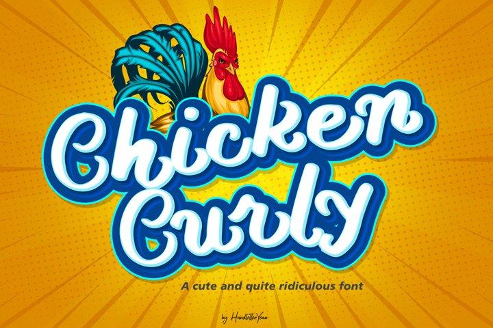 Chicken Curly
