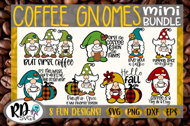 Coffee Gnomes - A Layered GNOME Cricut Cut File
