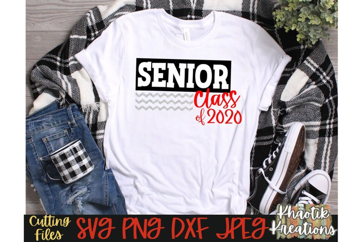 Senior Class of 2020 Svg, Senior Svg, Graduation Svg