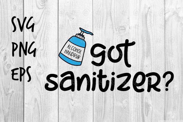 got sanitizer SVG design
