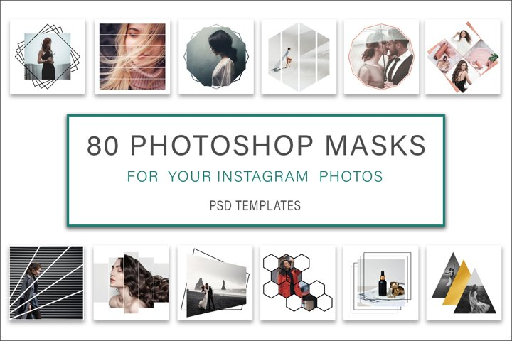 Photoshop Mask Instagram Post