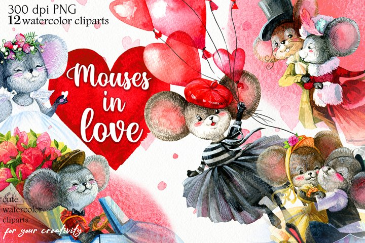 Mouses in love