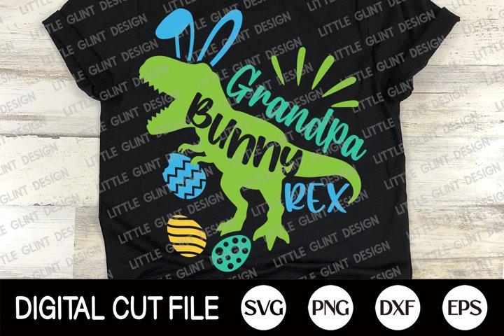 Easter Bunny Dinosaur Svg, Grandpa Bunny Rex, Sister Shirt