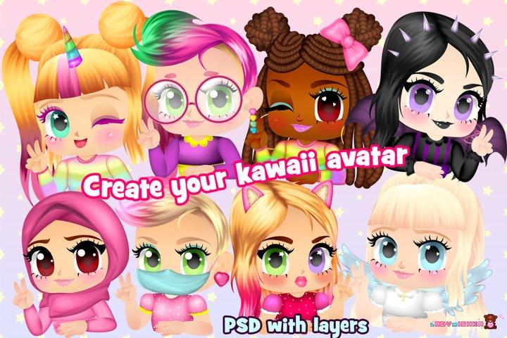 Kawaii Avatar Creator