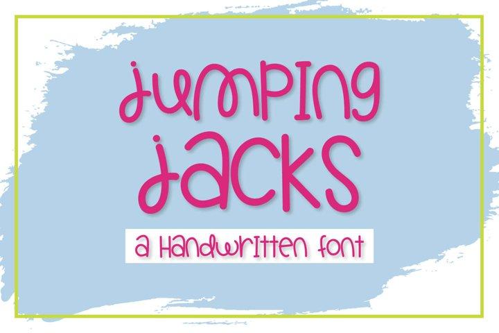 Jumping Jacks - A Handwritten Font
