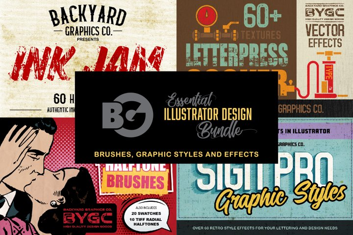 Essential Illustrator Design Bundle